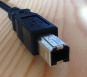 USB-B-Stecker